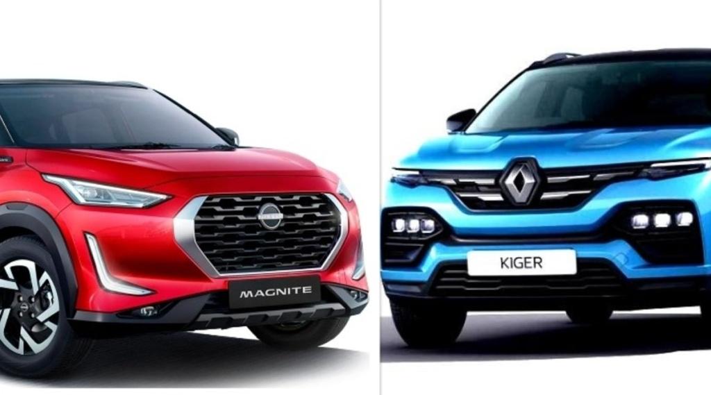 Nissan Magnite vs Renault Kiger
