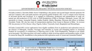 Oil India Limited, Oil India Limited Recruitment, Oil India Limited Grade III Recruitment