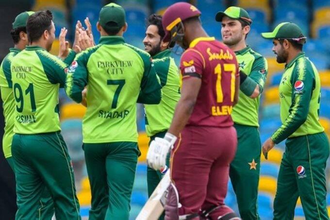 PAK vs WI 2nd T20 Mohammad Hafeez Babar Azam Mohammad Rizwan