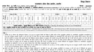 RPSC, RPSC Recruitment 2021, RPSC Statistical Recruitment 2021, Sarkari Naukri