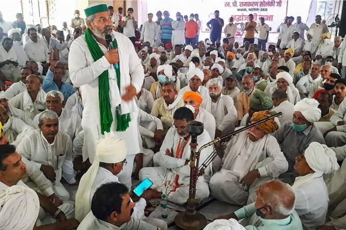 Rakesh Tikait, BKU, India News