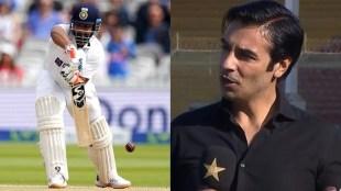 Rishabh Pant Salman Butt India vs England