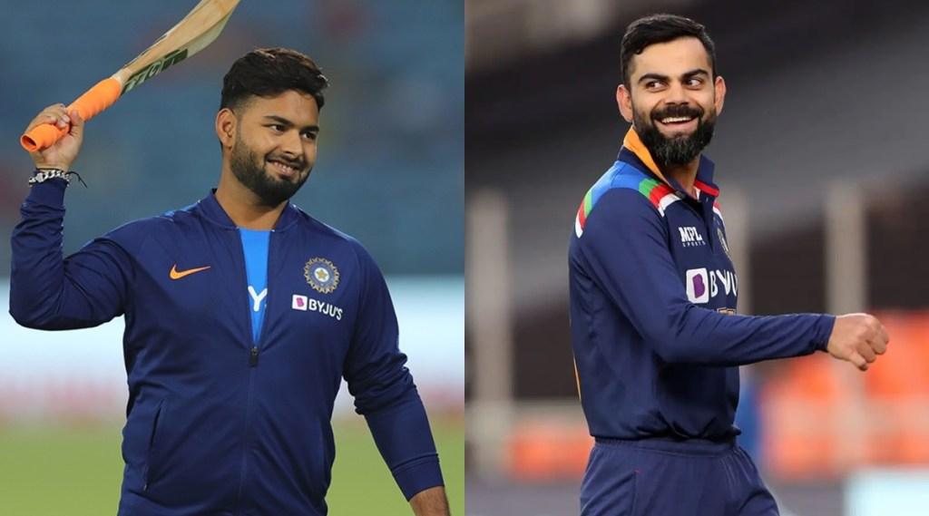 Rishabh Pant Virat Kohli India vs England 3rd Test Leeds