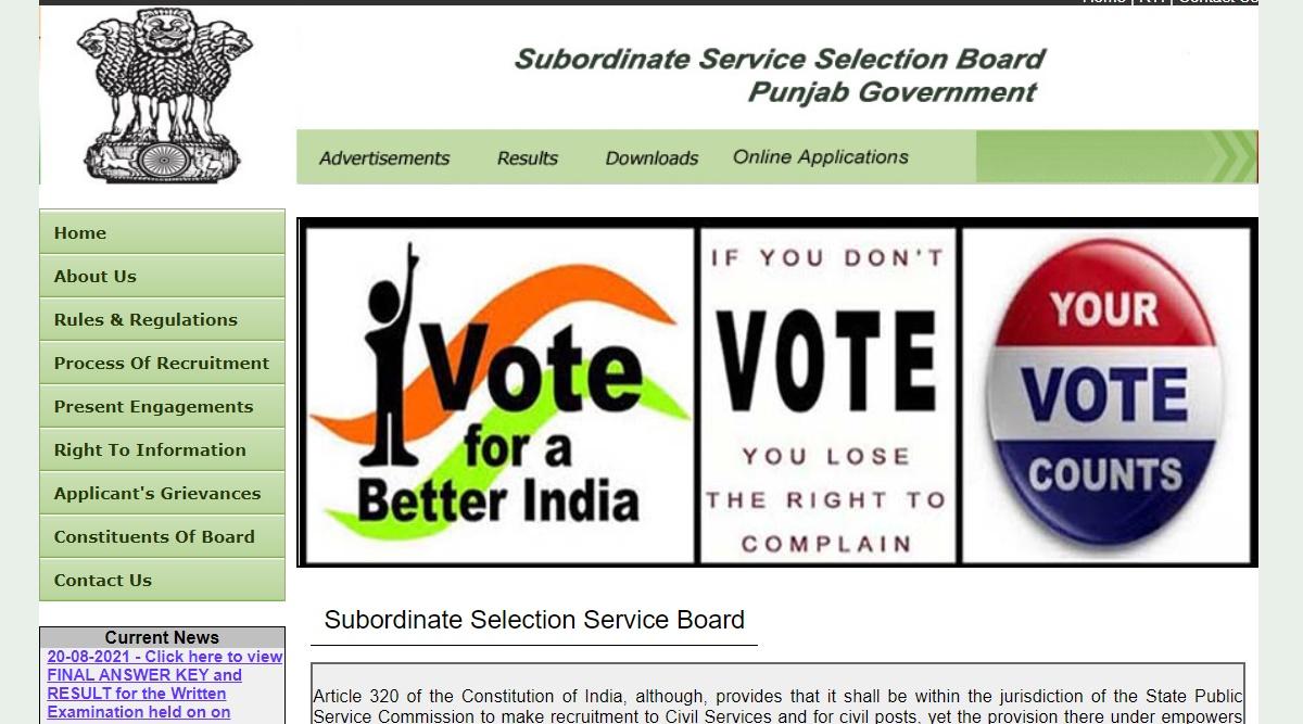 SSSB Result 2021: Patwari prelims exam result released at https://sssb.punjab.gov.in.  Check latest updates here