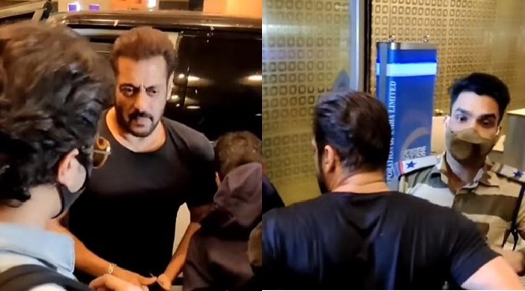 CISF jawan, Salman Khan, Salman Khan Stopped By CISF Jawan