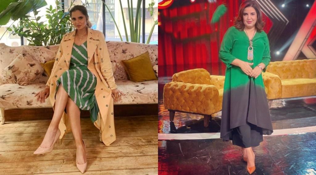 Sania Mirza farah khan choreographer instagram reels watch video