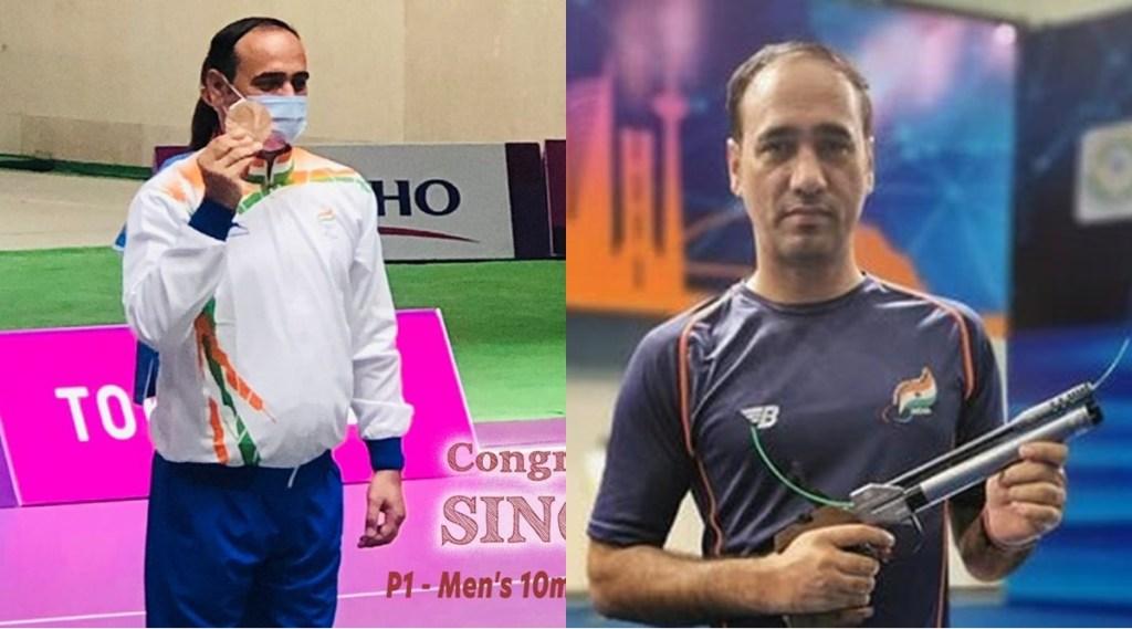Tokyo Paralympics 2021 Shooter Singhraj Adana Bronze Medal Indian Athlete