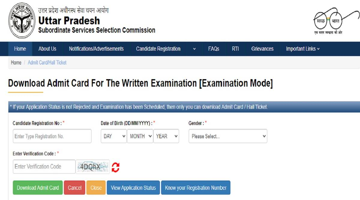 UPSSSC PET Admit Card 2021: Download Preliminary Exam Test Hall Ticket at upsssc.gov.in