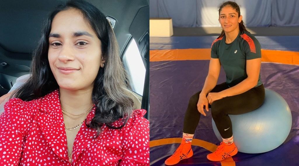 Vinesh Phogat Wrestling World Championship trial Olympic Medalist Bajrang Punia Wife Sangeeta Phogat