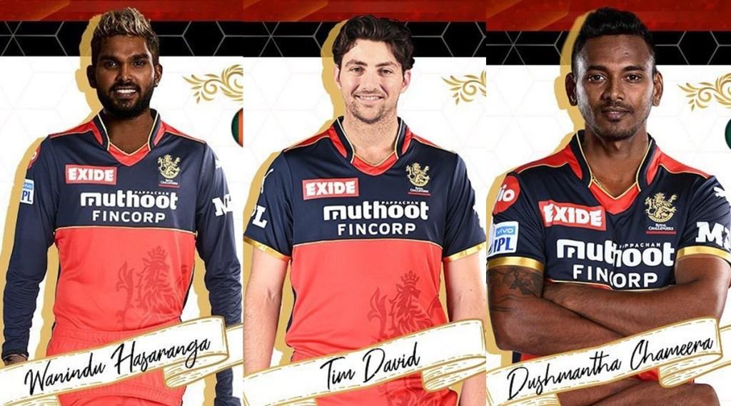 Wanidu Hasaranga Tim David Dushmantha Chameera RCB IPL 202 Royal Challengers Bangalore Virat Kohli