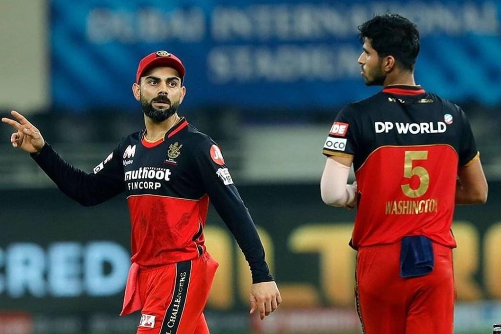 Washington Sundar Ruled out of IPL 2021 Virat Kohli