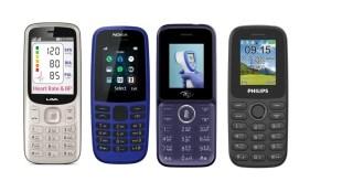 feature phone vs smartphone, basic phone, keypad phone