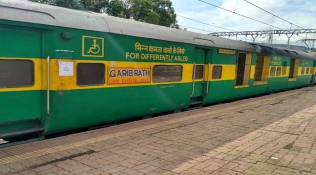 garib rath, train