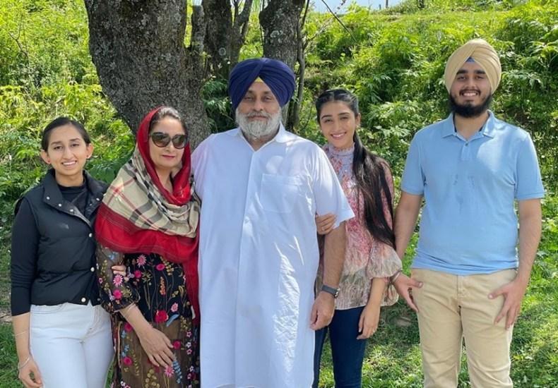 Sukhbir Singh Badal, Harsimrat Kaur Badal