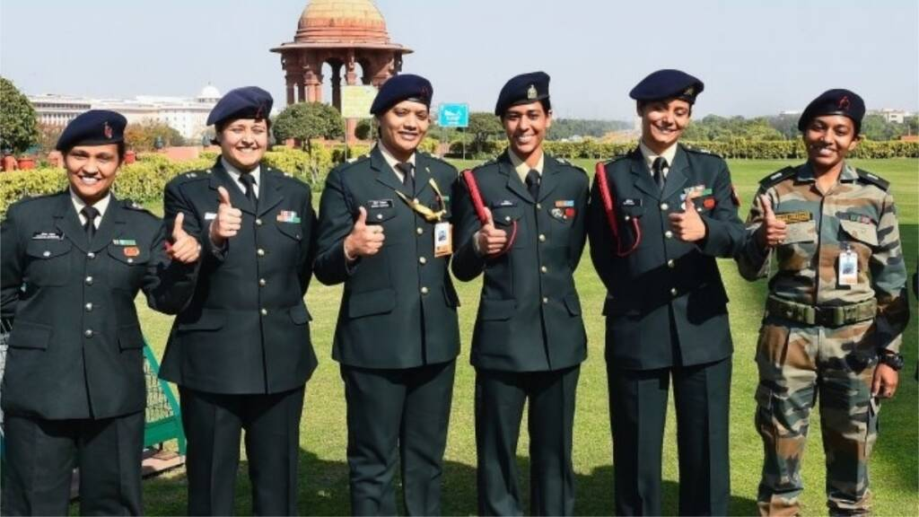 indian army, women officer