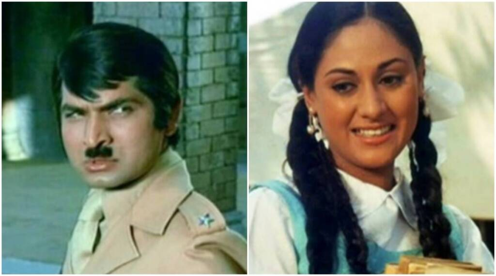 jaya bhaduri, asrani, hrishikesh mukherjee