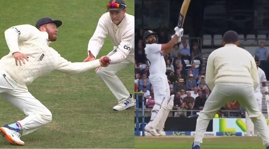 jonny bairstow Rohit Sharma India vs England Watch Video Sunil Gavaskar Sanjay Manjrekar