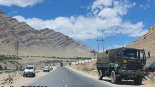 India-China Border, Ladakh