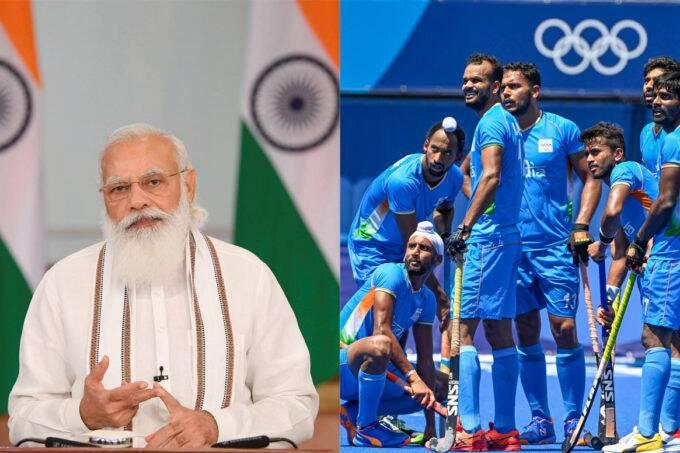 narendra modi, india, hockey