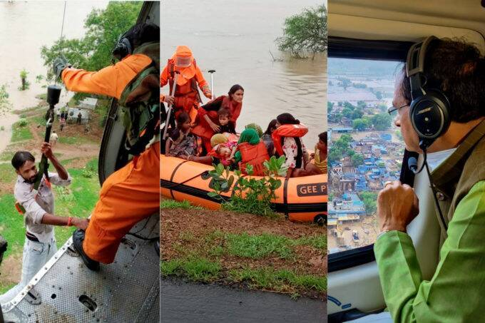 mp, floods, shivraj singh