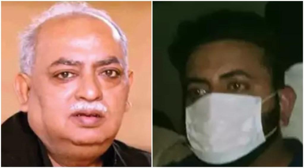 munawwar rana, tabrez rana, munawwar rana son arrested