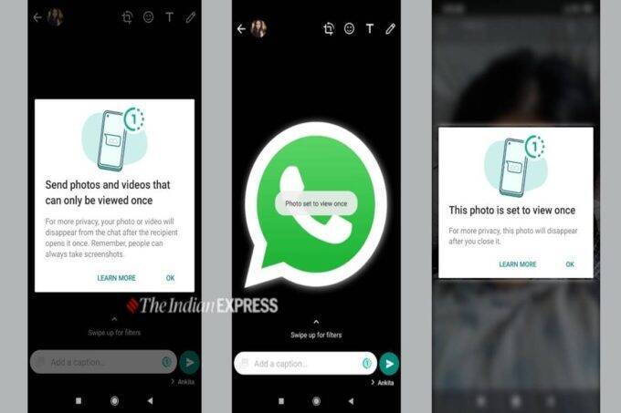 WhatsApp features, WhatsApp 2021 features, WhatsApp view once feature
