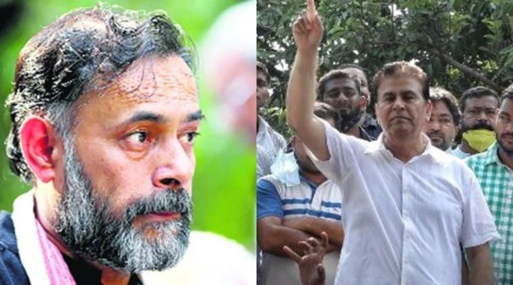 Yogendra Yadav, Surya Pratap Singh