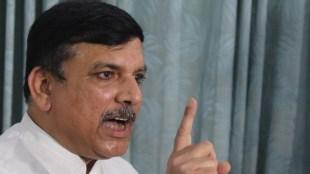 AAP leader Sanjay Singh. (Express photo by Prem Nath Pandey)