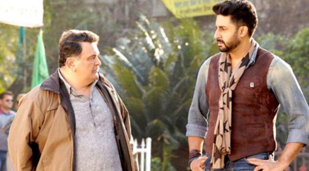 Rishi Kapoor, Abhishek Bachchan, ऋषि कपूर, रणबीर कपूर,