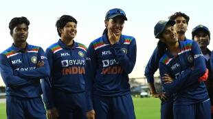 All smiles in the India camp