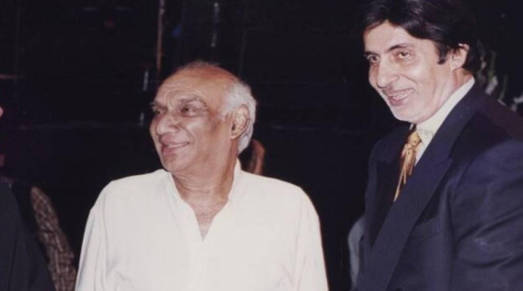Amitabh Bachchan, Yash Chopra, यश चोपड़ा, अमिताभ बच्चन