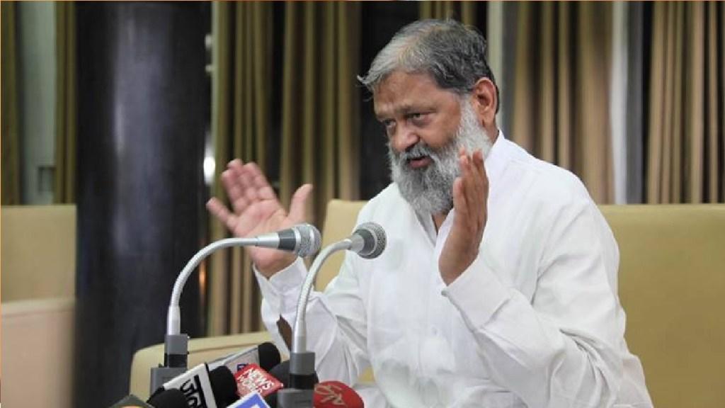 Anil Vij haryana