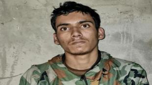Lashkar terrorist, LOC, Jammu-Kashmir, 19 year old terrorist, Weapons in Baramulla