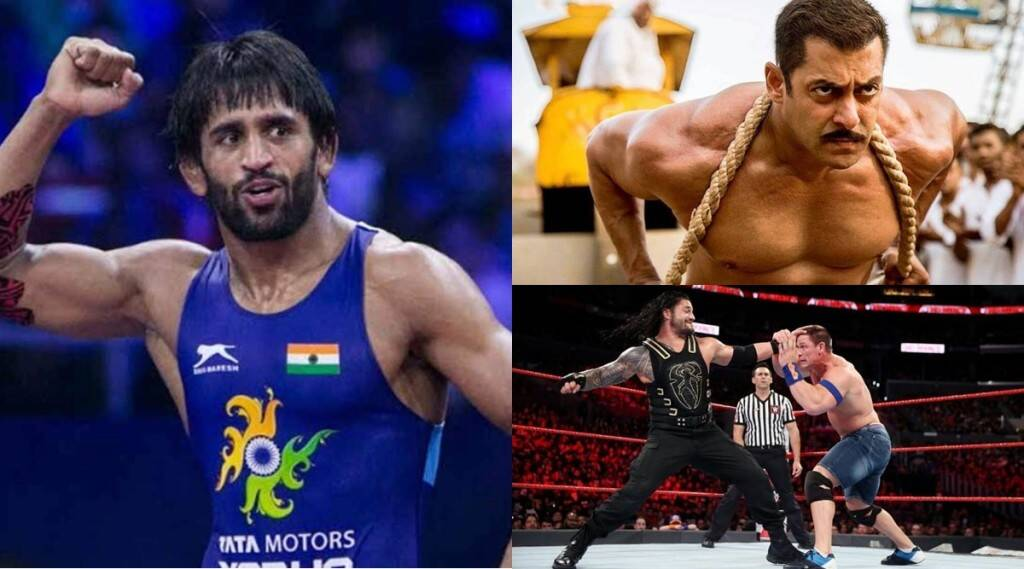 bajrang-punia-tokyo-olympic-bronze-medalist-calls-wwe-fake-also-salman-khan-starrer-sultan-as-only-showoff