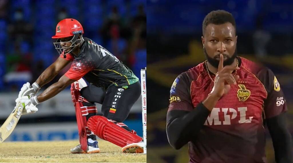cpl-2021-rajasthan-royals-evin-lewis-hits-century-shahrukh-khan-tkr-lost-to-chris-gayle-st-kitts-that-reaches-to-semifinal