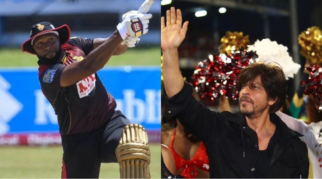cpl-2021-mumbai-indians-allrounder-kieron-pollard-hits-20-balls-half-century-shahrukh-khan-tkr-in-semifinal-full-schedule