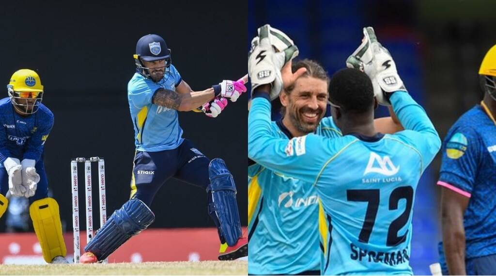 cpl-2021-ms-dhoni-csk-faf-du-plessis-leads-saint-lucia-kings-to-5th-victory-former-rcb-bowler-takes-5-wicket-haul