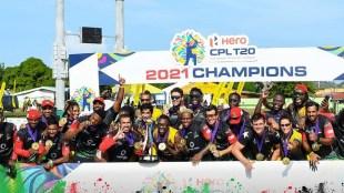 CPL Final 2021 MS Dhoni Dwayne Bravo St Kitts and Nevis Patriots Preity Zinta Saint Lucia Kings