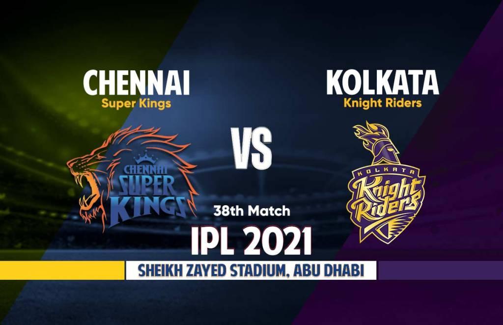 Chennai Super Kings Vs Kolkata Knight Riders Live Streaming