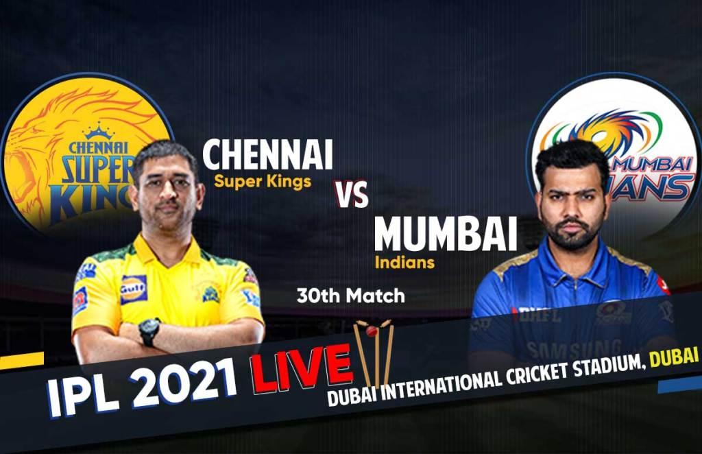 MI Vs CSK IPL Match live Updates, Live Score