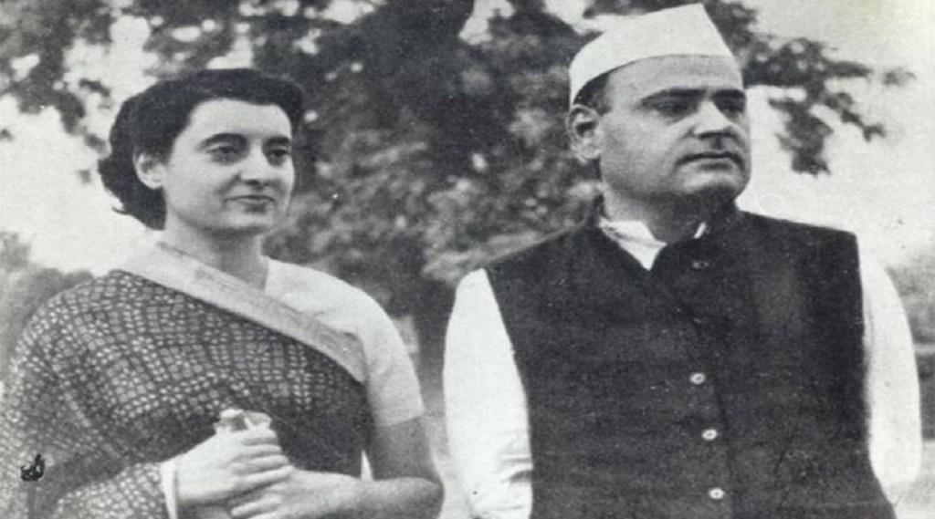 Indira Gandhi, Feroze Gandhi