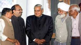 Mulayam Singh Yadav, Amar Signh, Atal Bihar Vajpayee