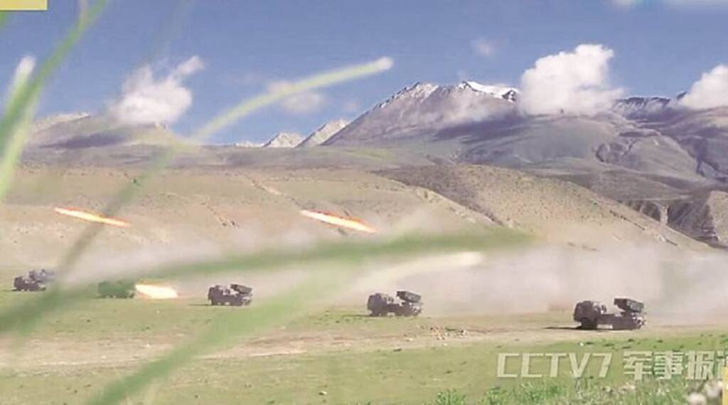 chinese soldiers seen in barahoti Area