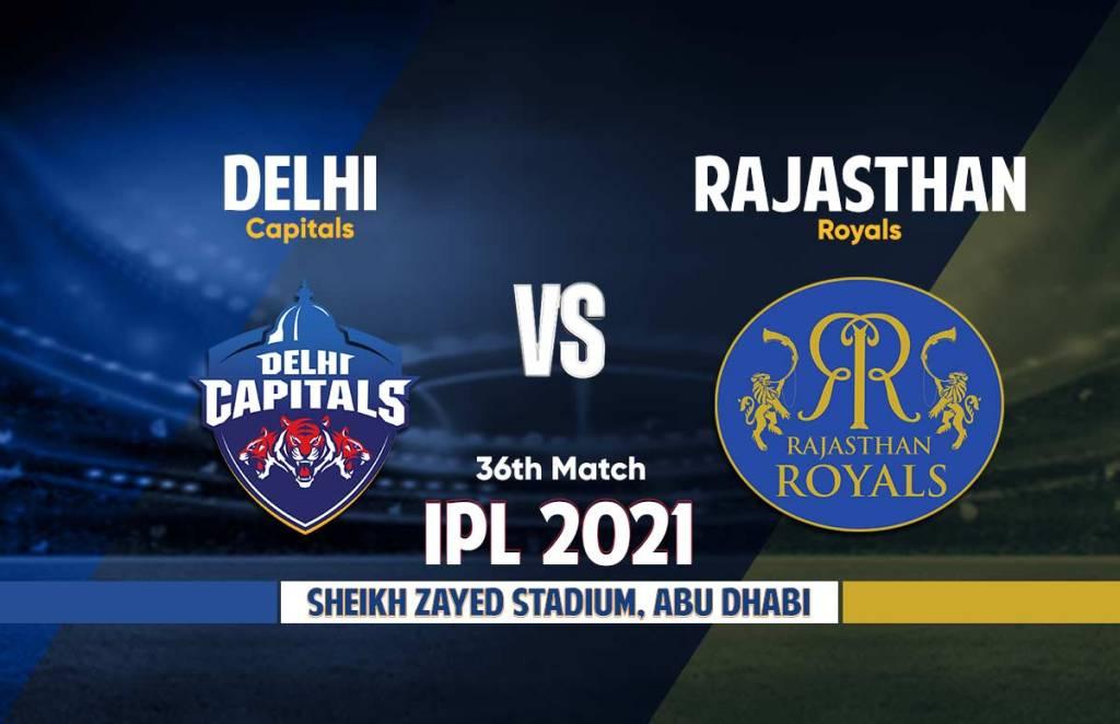 Delhi Capitals Vs Rajasthan Royals Live Streaming