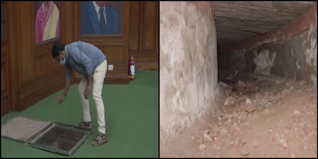 Tunnel in Delhi Legislative Assembly,