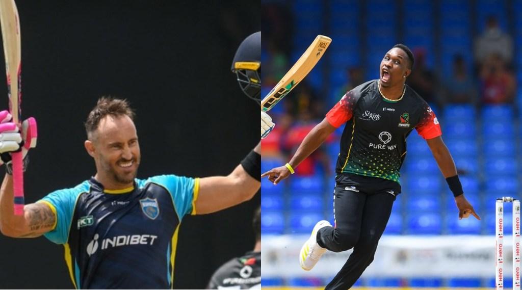 cpl-2021-csk-opener-du-plessis-hits-century-mumbai-indians-alzari-joseph-bowls-well-dwayne-bravo-st-kits-faces-first-loss-video