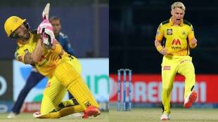 Faf du Plessis Sam Curran of Chennai Super Kings Chennai Super Kings vs Mumbai Indians IPl 2021