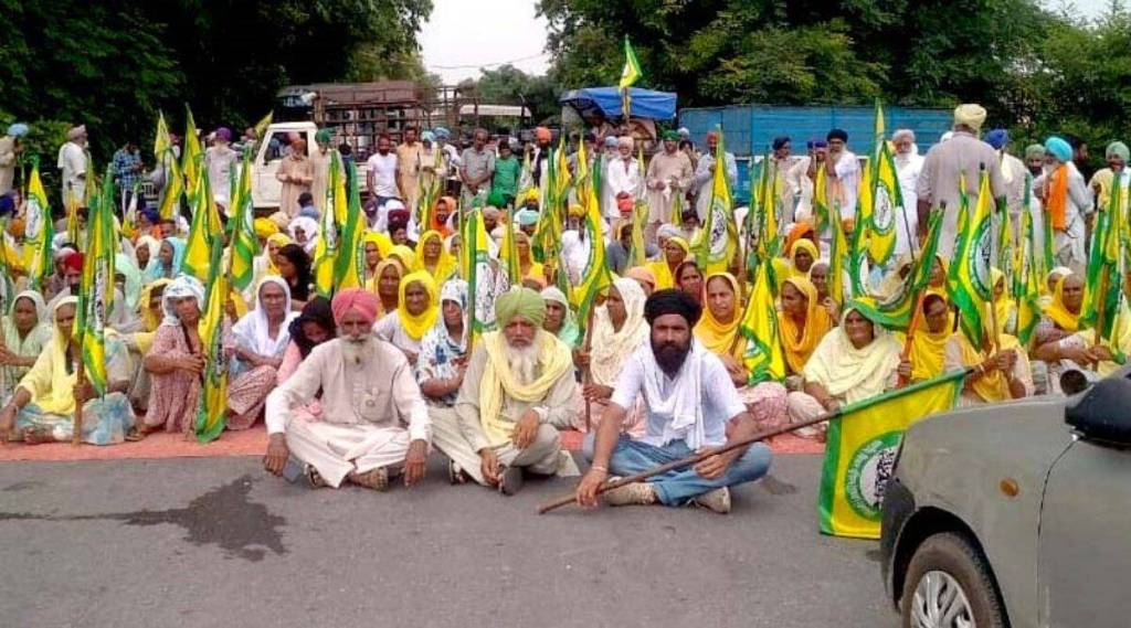 Farmers,Farmers Protest,Haryana,Karnal,Haryana Govt,mobile services,internet services,SMS services
