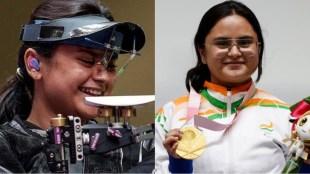Gold Medallist Avani Lekhara India celebrates podium Avani Lekhara