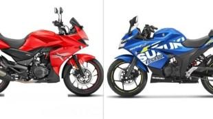 Hero Xtreme 200S vs Suzuki Gixxer SF